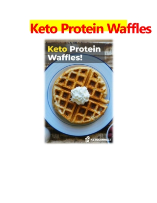 Keto Protein Waffles