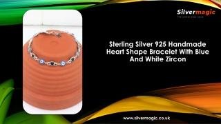Sterling Silver 925 Handmade Charm Bracelet