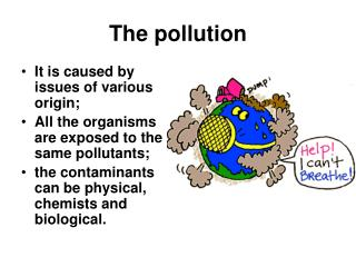 an overview of the atmosphere chemistry and the issues of pollution