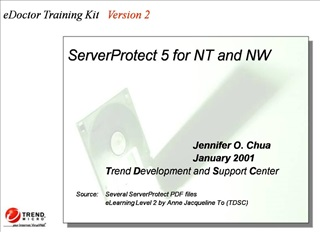 ServerProtect 5 for NT and NW