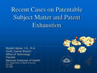 Recent Cases on Patentable Subject Matter and Patent Exhaustion