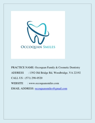 Occoquan Family & Cosmetic Dentistry