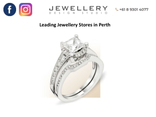 Leading Jewellery Stores in Perth