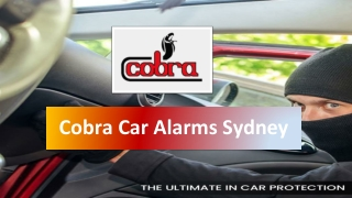 What is A Car Alarm System?