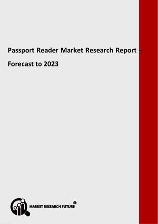 Passport Reader Market Analysis