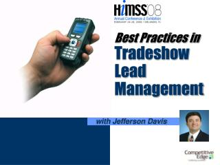 Best Practices in Tradeshow  Lead Management