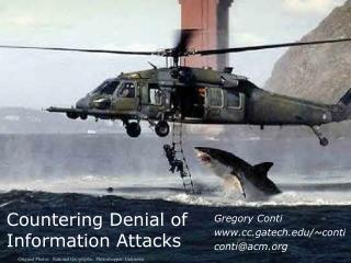 Countering Denial of  Information Attacks