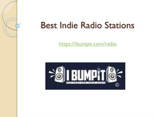 Best Indie Radio Stations | Indie Music Radio Stations