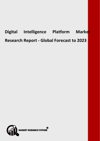 Digital Intelligence Platform Market