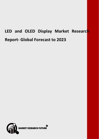 LED and OLED Display Industry