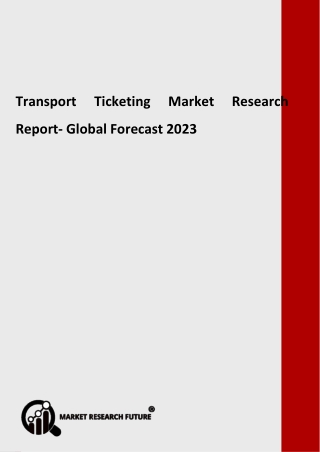 Transport Ticketing Market Share