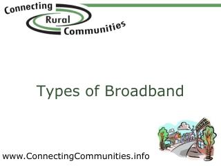 Types of Broadband