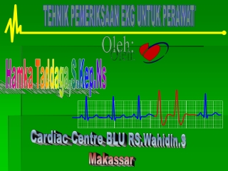 Tehnik pemeriksaan EKG,Pk Sukriadi