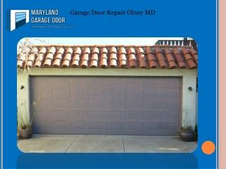 Garage Door Repair Olney MD