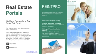 Reintpro Real Estate International Property