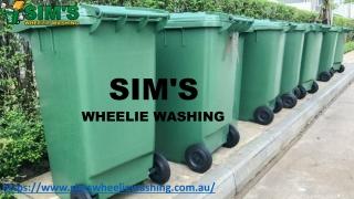 Avail Wheelie Bin Cleaning Service