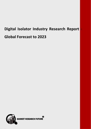 Digital Isolator Industry