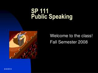 SP 111 Public Speaking