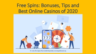 Free Spins: Bonuses, Tips and Best Online Casinos of 2020