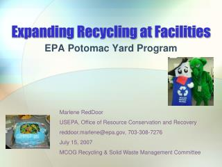 Expanding Recycling at Facilities