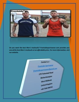 Buy Fitness Clothing UK | Frontside Sportswear
