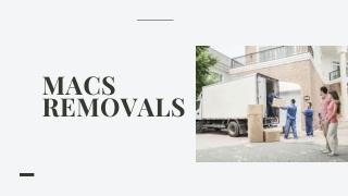 Removals Company Birmingham - Macs Removals