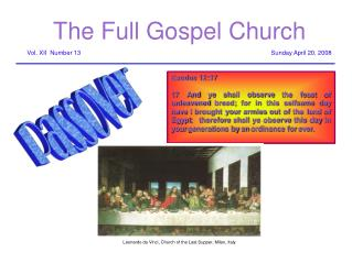 The Full Gospel Church