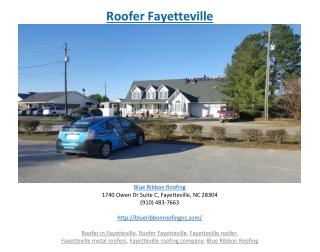 Roofer Fayetteville