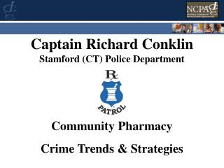 Captain Richard Conklin Stamford CT Police Department