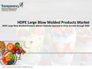 HDPE Large Blow Molded Products Market
