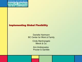 Implementing Global Flexibility