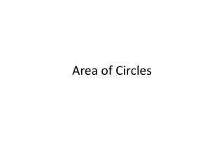 Circles: