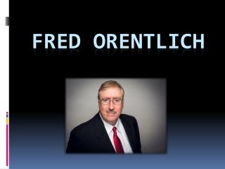 Fred Orentlich