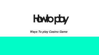 How to Pay Casino Pay