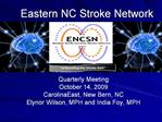 Eastern NC Stroke Network