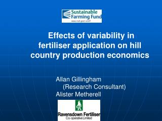 Effects of variability in fertiliser application on hill country production economics