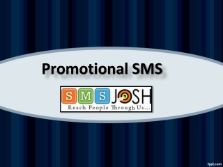 Promotional Bulk SMS Services in Hyderabad, Promotional SMS in Hyderabad  – SMSjosh