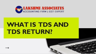 What Is TDS And TDS Return?