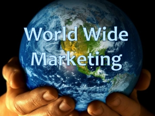 WORLD WIDE MARKETING PLAN