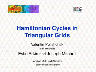 Hamiltonian Cycles in Triangular Grids