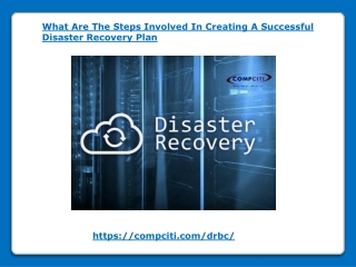 What Are The Steps Involved In Creating A Successful Disaster Recovery Plan