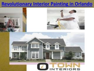 Revolutionary Interior Painting in Orlando