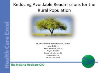 Reducing Avoidable Readmissions for the Rural Population