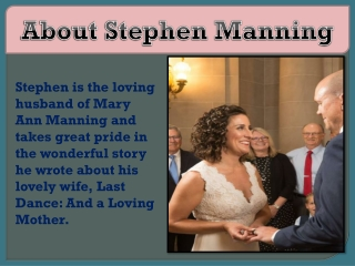 About Stephen Manning