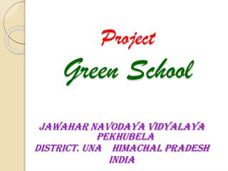 Project Green School