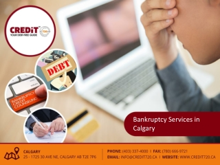 Bankruptcy Services in Calgary
