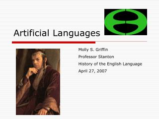 Artificial Languages