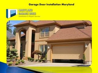 Garage Door Installation Maryland