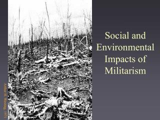 Social and Environmental Impacts of Militarism