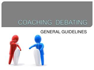 COACHING  DEBATING